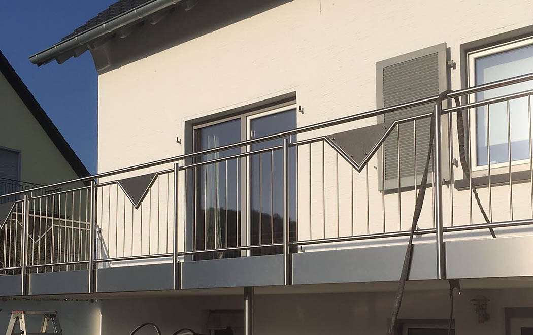 balkongel nder balkon edelstahl altenglan kusel. Black Bedroom Furniture Sets. Home Design Ideas