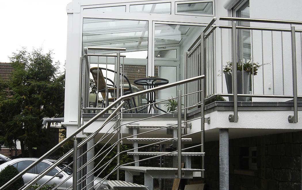 Treppengelander Eingangstreppe Innentreppe Altenglan Kusel